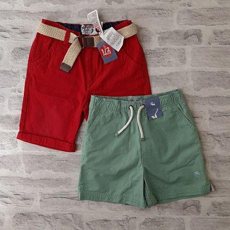 Набор шортов / фирменные стильные шорты 134 см. 9 лет.