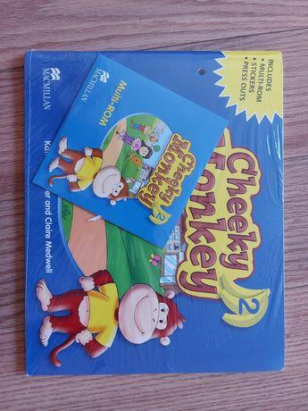 Livros Ingles Infantil Cheeky Monkey 1 e 2 Pupil's Book Pack (com CD)