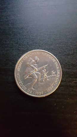 Moneta 500 zł 1989