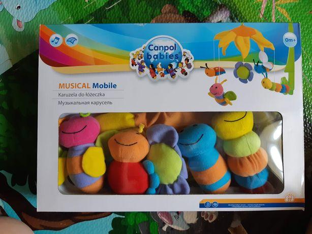 Музыкальная карусель Canpol babies