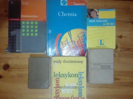 Podręczniki, słowniki