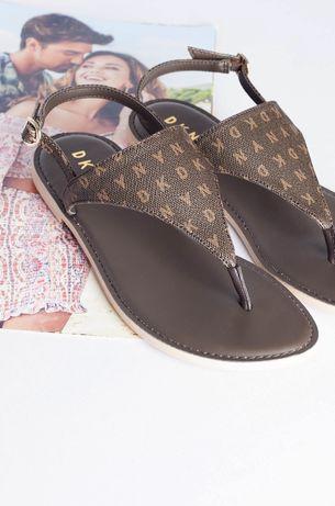 DKNY оригинал. Босоножки сандалии коричневые размер 36 37 37.5-38