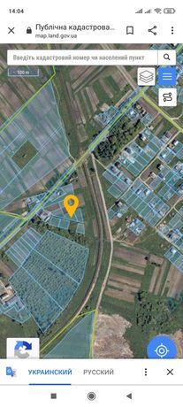 Земельна ділянка під індивідуальне садівництво