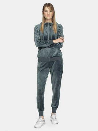 4F Nowy Komplet dresowy XL/L spodnie bluza welur kurtka legginsy