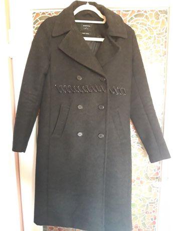 Długi elegancki plasz, ciemny szary, 36, reserved