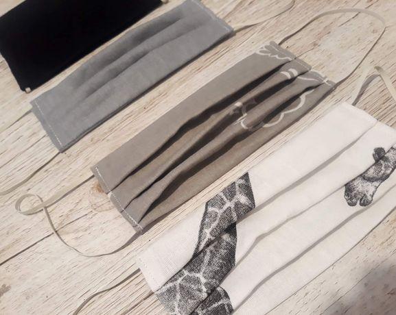 Maseczki bawełniane 2-warstwowe, FV