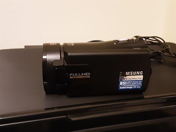 Câmera Video Samsung Full HD Cartão SD 300X Como Nova