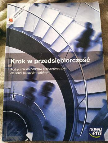 Książka Krok w przedsiębiorczość Klasa 1