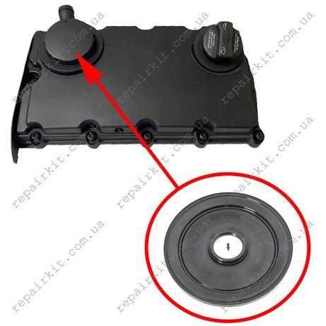 Мембрана клапанной крышки AUDI A6, A4 2.0 TDI 03G103469K, 03G103475B