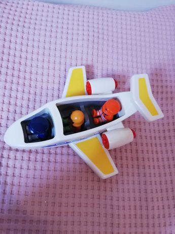 Aviao Playmobil 1 2 3