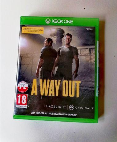 Gra XBOX ONE A Way Out dla dwóch graczy