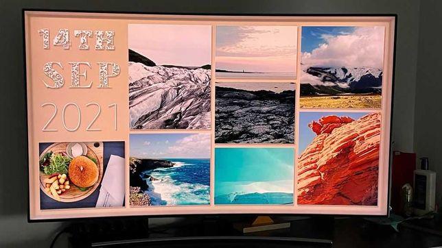 """SMART TV SAMSUNG Ecran curvo 55"""""""" como nova"""