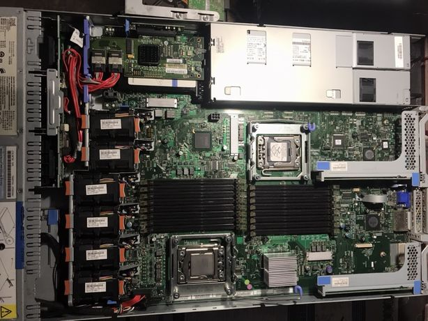 Сервер 1U IBM x3550 m2 s1366 DDR3