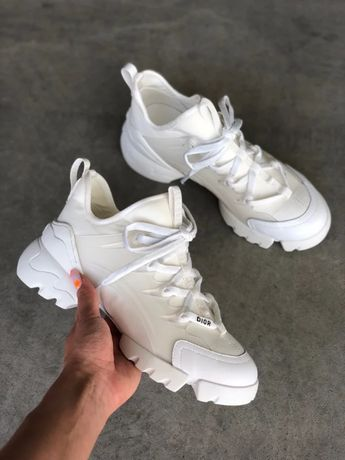 Dior White conect białe sport adidasy 38,39