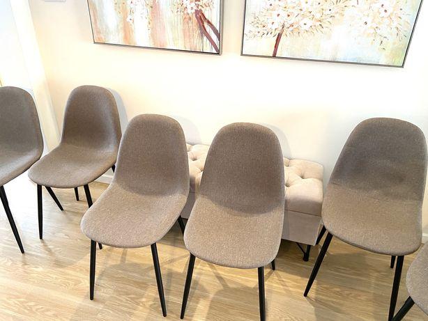 Cadeiras para sala de jantar (6) Como novas! Pouco uso!