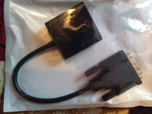 Конвертер DVI-D - VGA