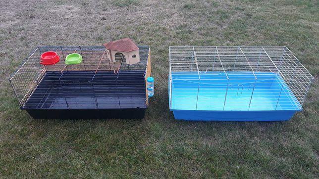 2 klatki w cenie 1  (królik lub świnka morska)