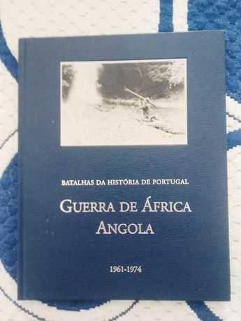 Livro Guerra De África Angola