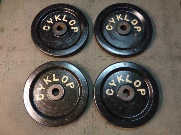Obciążenie olimpijskie Polsport Cyklop . 4x25kg fi51mm