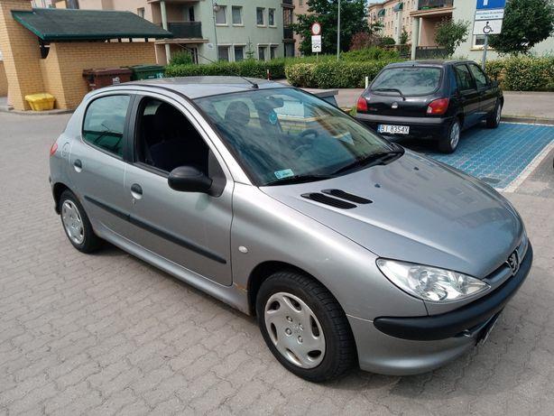 Peugeot 206 1.1b 2003r salon PL 1 właściciel