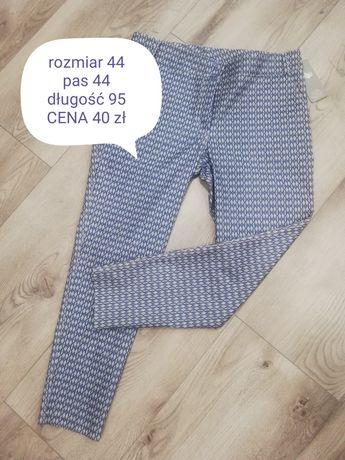 Spodnie damskie materiałowe rozmiar 44