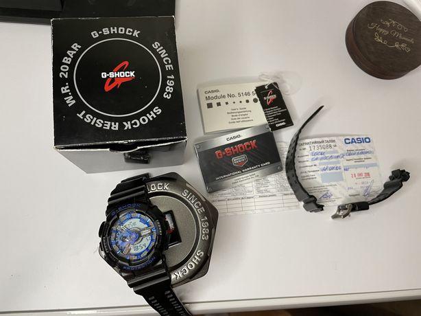 Продам свои часы Casio G-Shock GA-110CB-1A