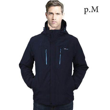 Термо-куртка. Мужская. Мембранная. Осень-зима. Темно синяя. Новая