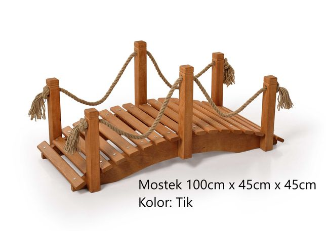 Mostek drewniany 100cm