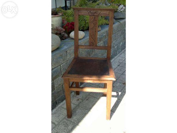 Cadeira antiga Arte Nova