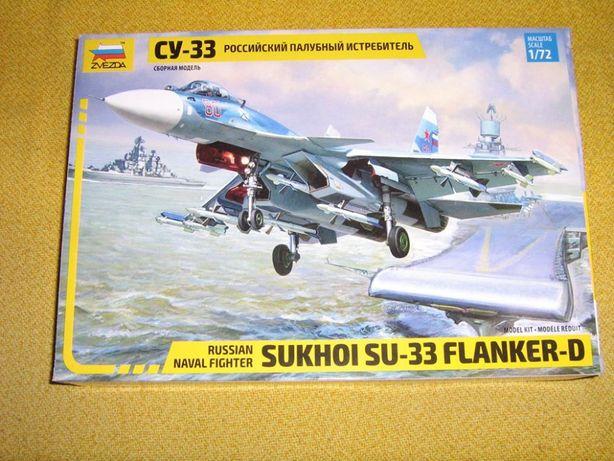 Su-33 1/72 Zvezda