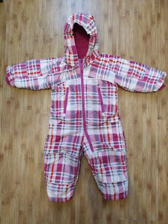Комбинезон детский H&M размер 80, термокомбинезон H&M 9-12 месяцев