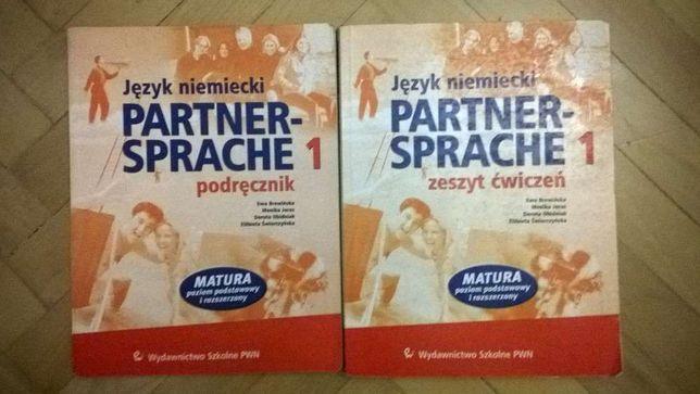 Partner Sprache - podręcznik + zeszyt cwiczeń nauka Język niemiecki