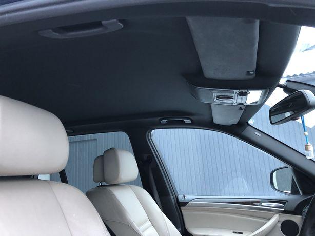 Черный потолок без люка BMW X5 E70 чорний БМВ Х5 E70 Разборка