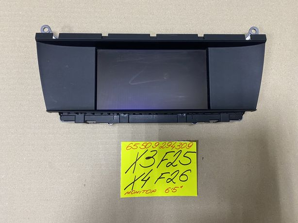 BMW X3 F25 X4 F26 монітор бмв х3 ф25 х4 ф26 9294309 6.5' дисплей