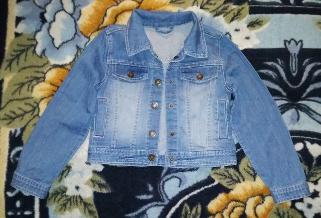 Піджачок джинсовий