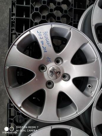 """Jantes PSA Peugeot 207 ou 208 15"""""""