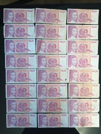 Banknoty Jugosławia
