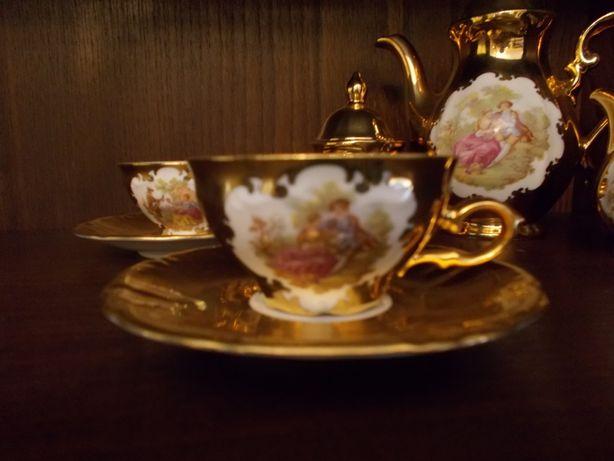 Serviço Chá antigo ouro Bavaria