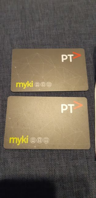 Karta MYKI transport Melbourne Australia 2 sztuki