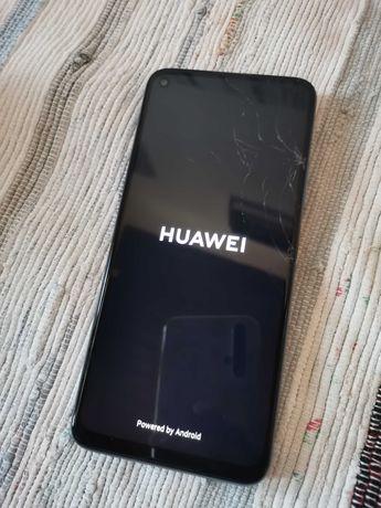 Huawei P40 Lite silver 5G c/ caixa e acessórios