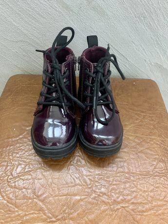 Zara черевички для дівчинки