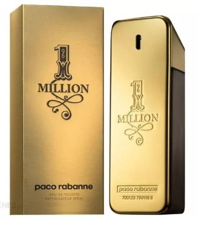 Paco Rabanne One Million/ Perfumy Męskie EDT. 100 ml. PREZENT
