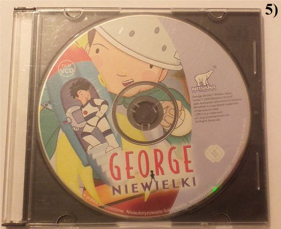 """Bajki i filmy dla dzieci:""""George Niewielki"""", """"Było sobie życie"""" i inne"""