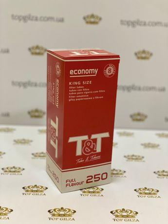 T&T 250 Гильзы для сигарет, гильзы для табака, сигаретные гильзы