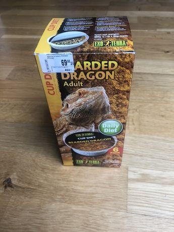 Agama brodata pokarm granulowany dla dorosłych