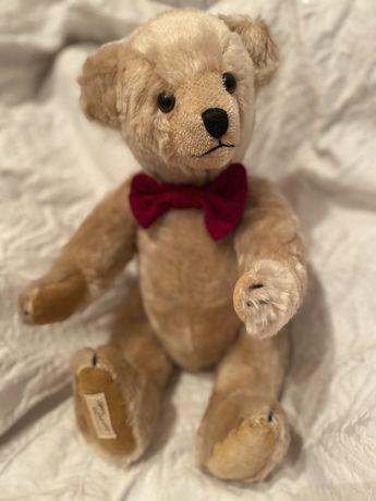 Винтажный коллекционный мишка Jack Deans Rag Book Bear