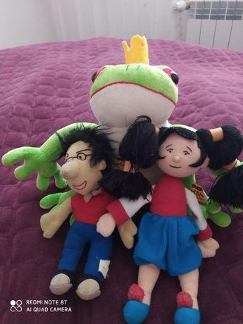 Лот іграшок, царівна жаба і друзі