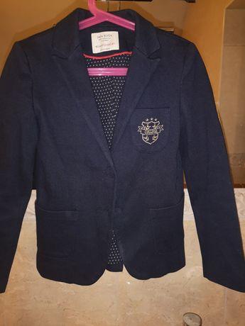 Marynarka żakiet oldschoolowy Zara Girls 140