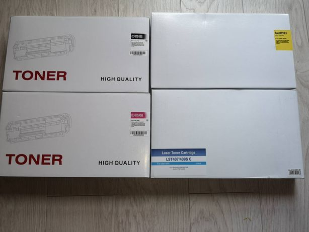 4 x TONER kolor do Samsung CLP320 CLP325 do SAMSUNG CLX3180 CLX3185