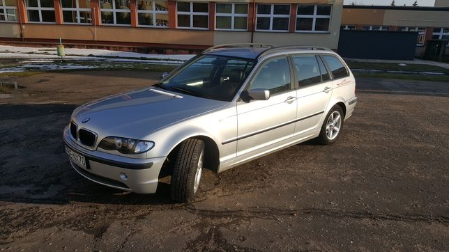 BMW Seria 3 2002R Nagi Kolor 8X Alus